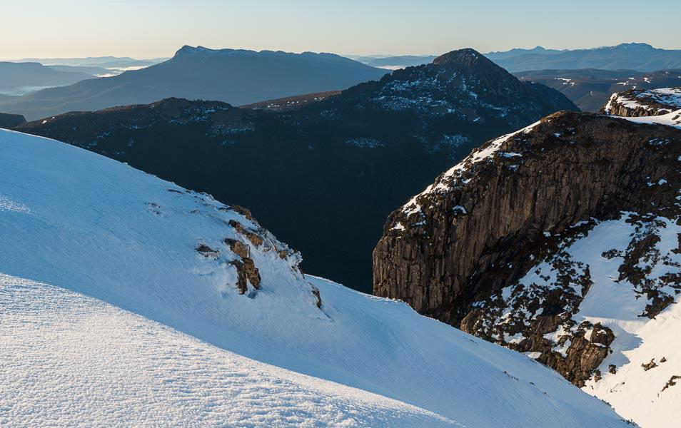 Anne Range, Tasmanian Wilderness World Heritage Area. Photo: Grant Dixon
