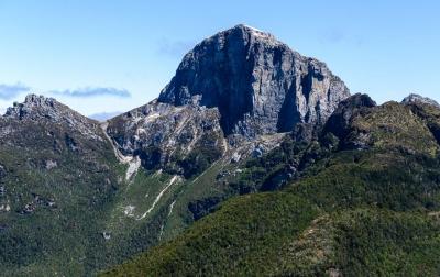 The distinctive Frenchmans Cap, Tasmanian Wilderness World Heritage Area. Photo: Grant Dixon