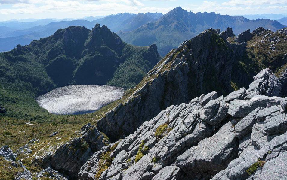 Arthur Range, Tasmanian Wilderness World Heritage Area. Photo: Grant Dixon