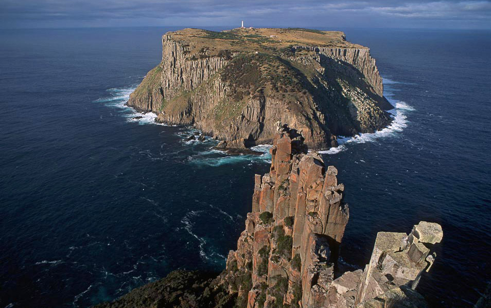 Tasman Island from Cape Pillar, Tasman National Park. Photo: Grant Dixon