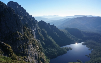 Lake Geeves, Eastern Arthur Range, Tasmanian Wilderness World Heritage Area. Photo: Grant Dixon