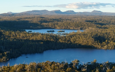 Walls of Jerusalem from Lk Malbena, Tasmanian Wilderness World Heritage Area. Photo: Grant Dixon